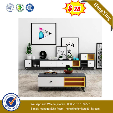 25mm thickness Glossing NEW Design laminated TV cabinet (UL-9BE297)